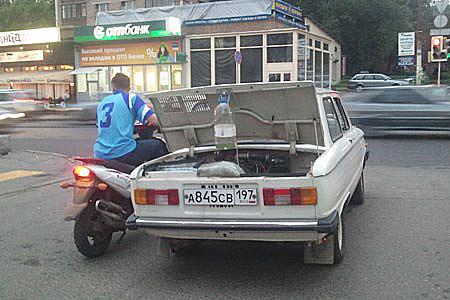 Временный бензобак