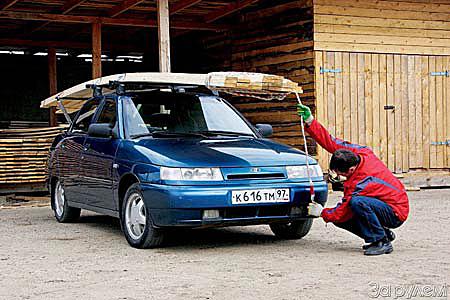 Как перевозить груз на багажнике