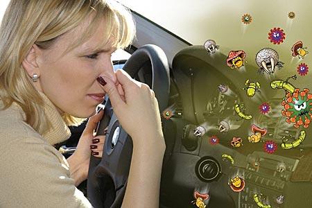 Три беды для водителя в жару