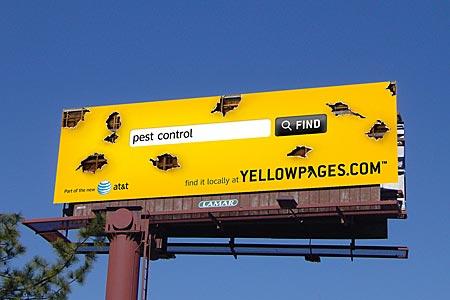 Желтые страницы и реклама