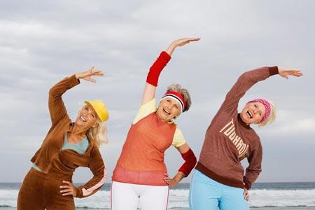 Упражнения от старения