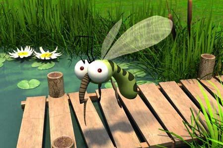 Как избавиться от комаров и мух