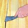 Чем заделать щели в полу