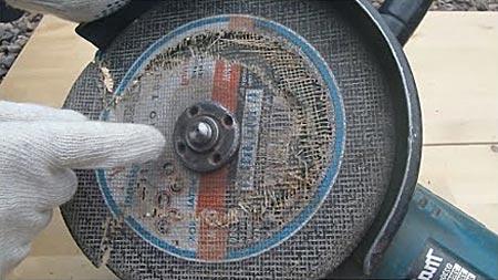 Строение диска болгарки
