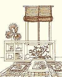 Японский стиль из подоконника