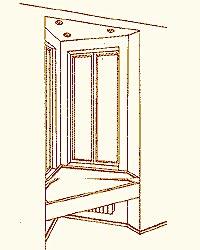 Копировальный стол у подоконника