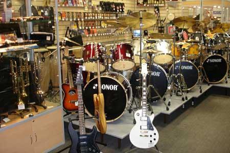 Музыкальный магазин - как открыть