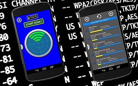 Поиск доступной сети Wi-Fi в ЯндексКартах