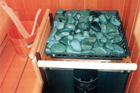 Камни для бани - что выбрать?