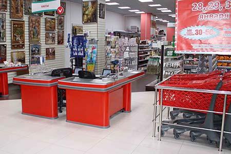 Оснащение магазинов