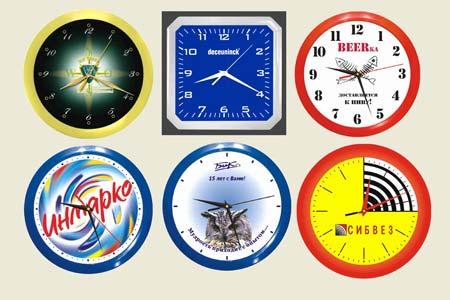 Часы с логотипом как бизнес-сувенир