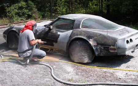 Пескоструйная установка и особенности ее использования при покраске автомобиля