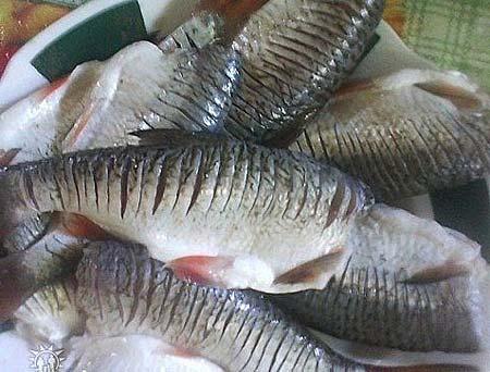 Жарим рыбу без костей