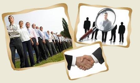 Рекрутинговое агенство поможет найти работу