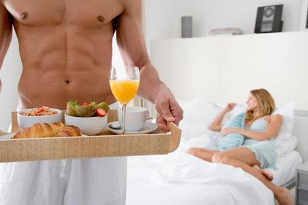 Оргазм и продукты питания