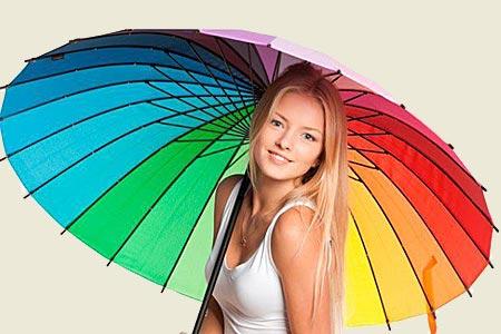Женщины и цвет
