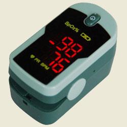 Прибор измерения кислорода в крови.